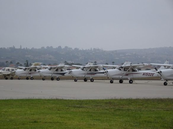 Flightline at Channel Islands Aviation
