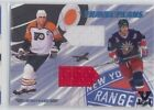 2001 02 BE A PLAYER ERIC LINDROS TRAVEL PLANS TP 10 1 1 VAULT