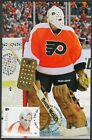 CANADA  28714 BERNIE PARENT HOCKEY STAMP on MAXIMUM POST CARD ONLY 8 MADE