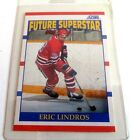1990 1991 Score NHL Rookie Card 440 Eric Lindros Future Superstar Factory Set