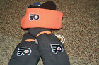 PHILADELPHIA FLYERS WINTER HAT AND GLOVES MITTENS