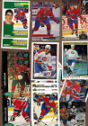 Ice Hockey JOHN LECLAIR Group of 30 original cards w Inserts ROOKIE CARDS