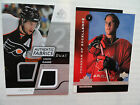 Simon Gagne 1998 Program Of Excellence Rookie Card  2008 09 Dual Swatch Jersey