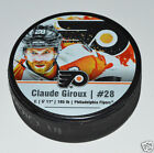 CLAUDE GRIOUX Philadelphia Flyers PLAYER STAR PUCK NEW 28 In Glas Co