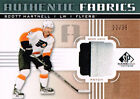 11 12 SP Game Used Authentic Fabrics PATCH xx 35 Made Scott HARTNELL Flyers