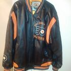 Philadelphia Flyers Authentic 2XL Leather Jacket
