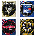 Choose Your NHL Team 50 x 60 Puck Series Soft Sherpa Throw Blanket by Northwest