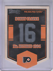 2012 13 Classics Signatures Banner Numbers 58 Bobby Clarke NM MT