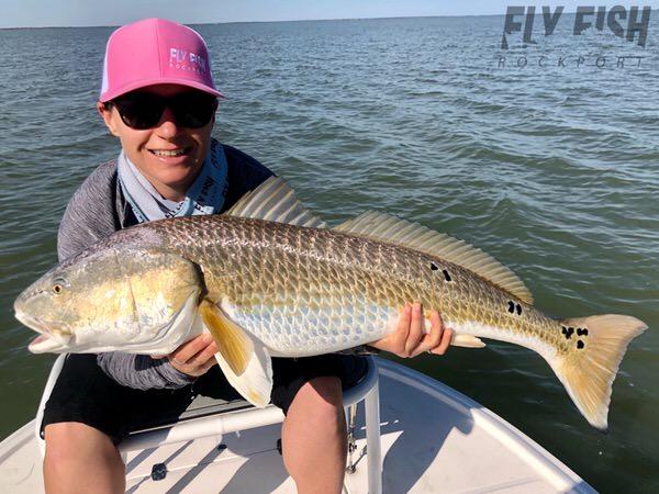 Texas Bull Redfish Fly Fishing
