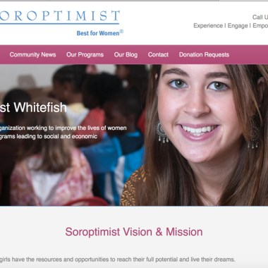 Soroptimist Whitefish – An Online Communications Campaign