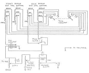 Gibson Bass Wiring Diagram  Wiring Diagram Virtual Fretboard