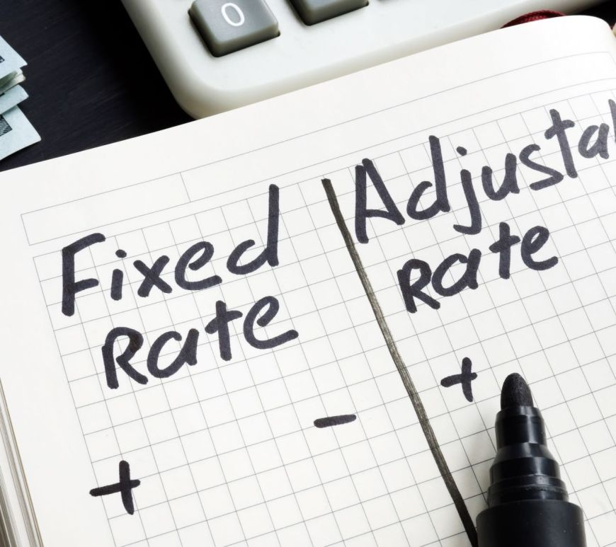 Fixed vs ARM mortgage loan