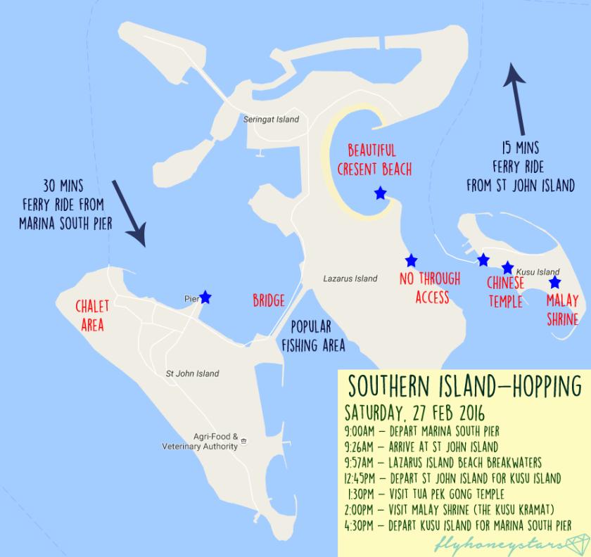 southern island hopping singapore