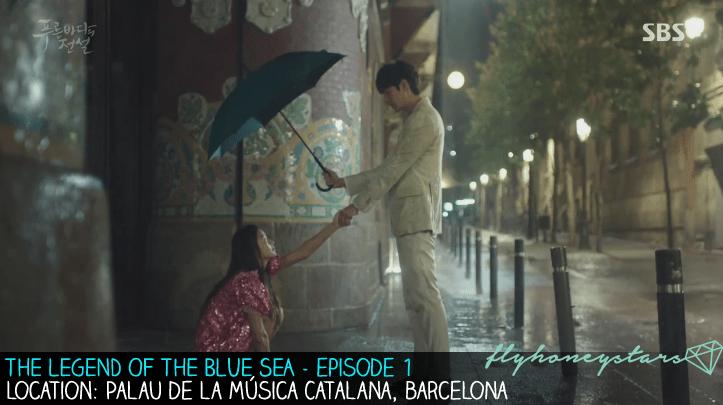 legend of blue sea Palau de la Música Catalana 1