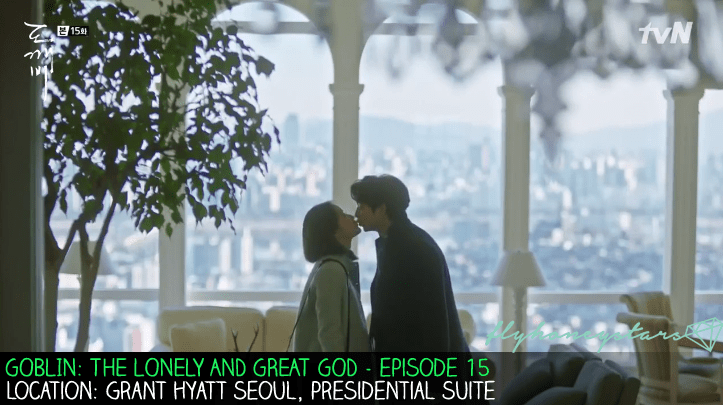 goblin drama location grand hyatt seoul presidential suite