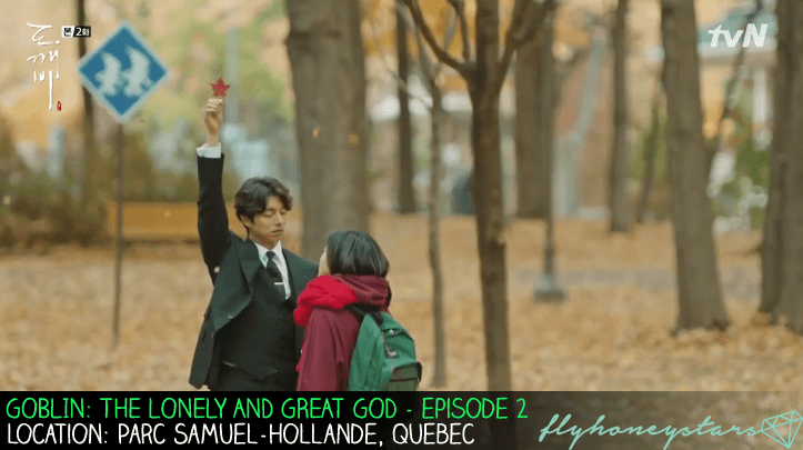 goblin drama location maple leaf parc samuel hollande quebec 2