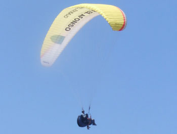 Tandem flight in Gran Canaria
