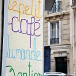 Une journée à Paris: Le petit café du monde entier