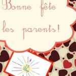 Les 15 blogs fêtent les parents! Pluie de cadeaux dedans!