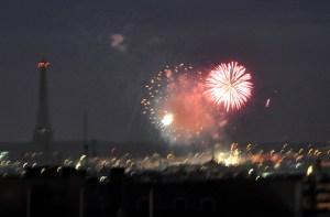 feu d'artifice du 14 Juillet
