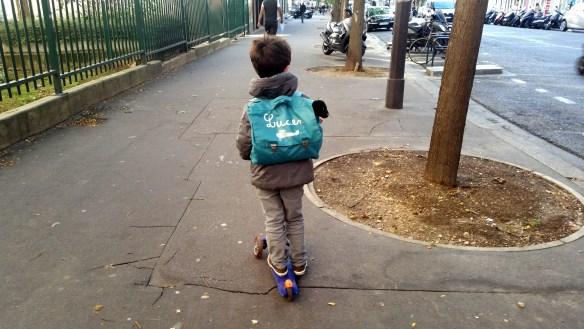 cartable garçon maternelle