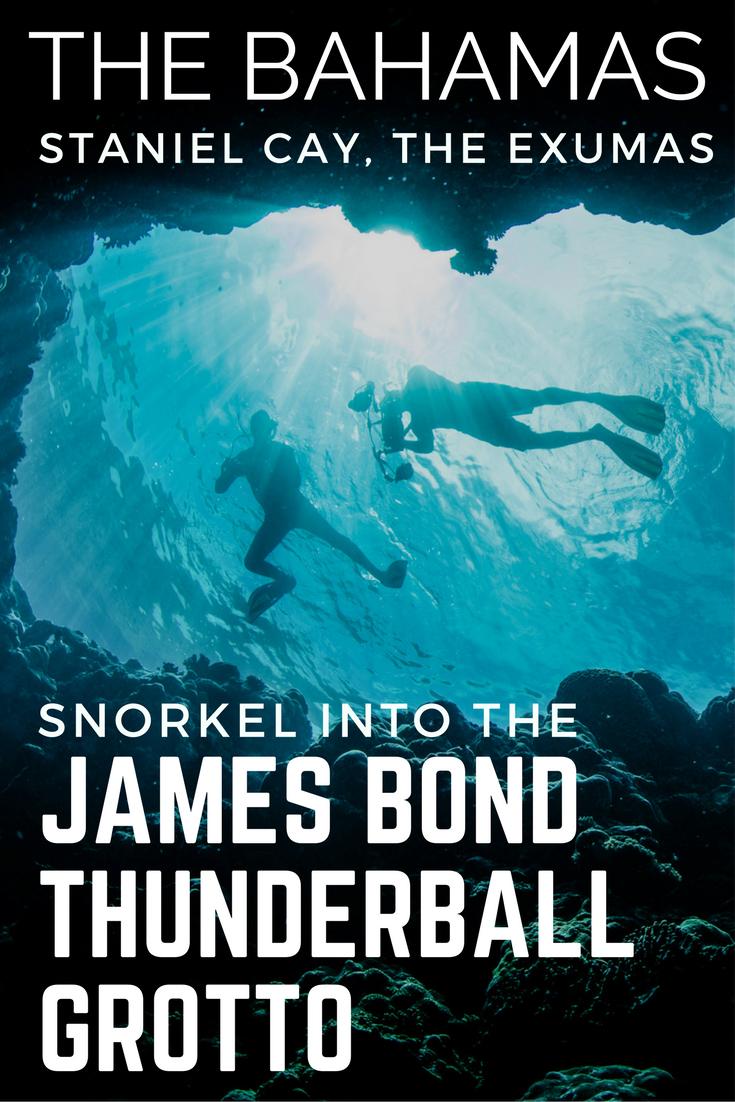Exuma Thunderball Grotto Trip