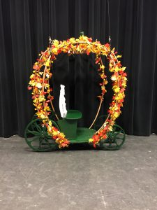 An image of Cinderella's Carriage dressed
