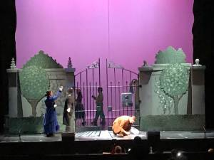 Picture of park gates from Mary Poppins musical