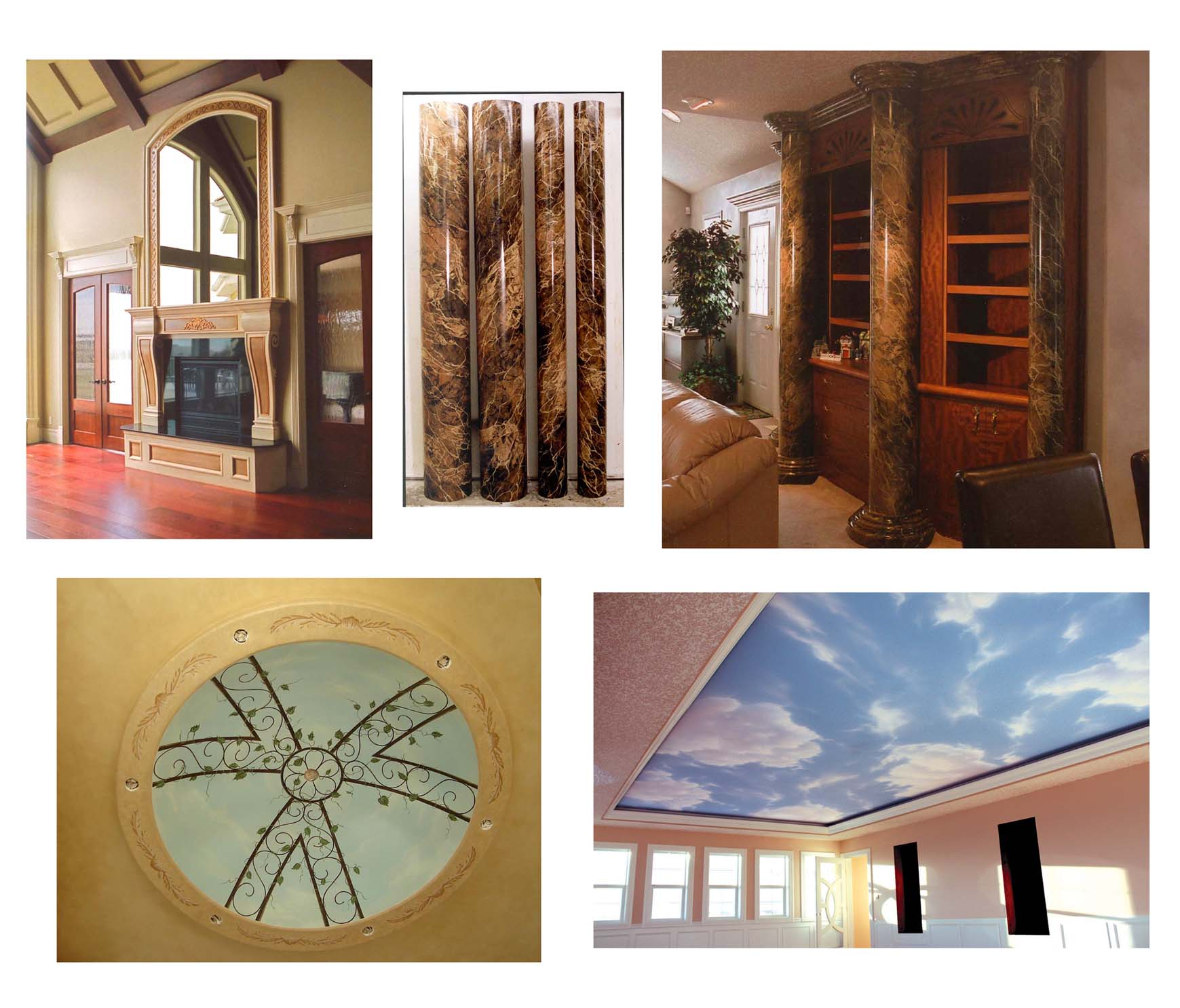 Art Deco Residential: How To Paint An Art Deco Style Mural