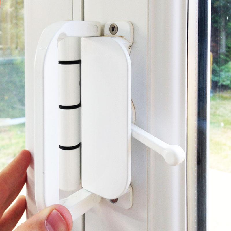 8ft white upvc bifold doors