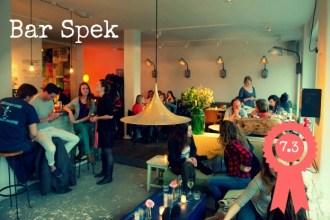 Bar Spek Hotspot Amsterdam