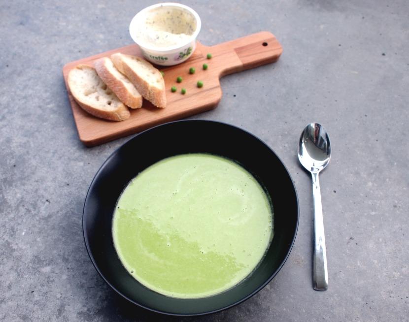 Budgetweek: tuinerwten doperwten soep