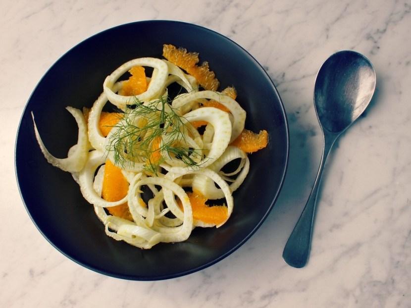 Venkel salade met Sinaasappel