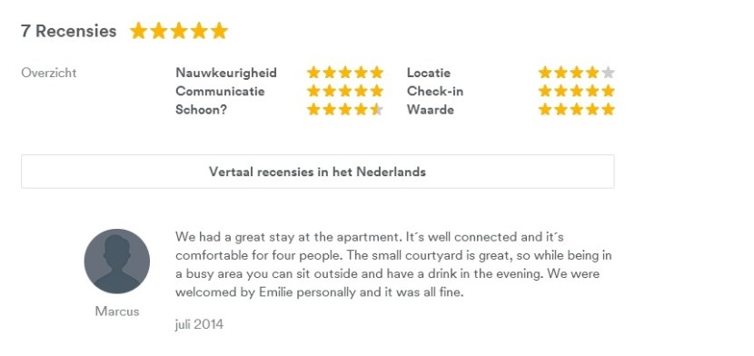 Overnachten met Airbnb tips 2