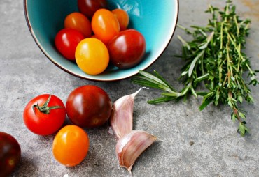 Pastasaus recept met geroosterde cherry tomaten