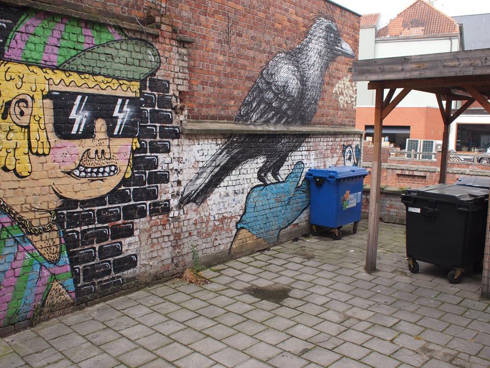 Street Art Gent Ghent Belgie