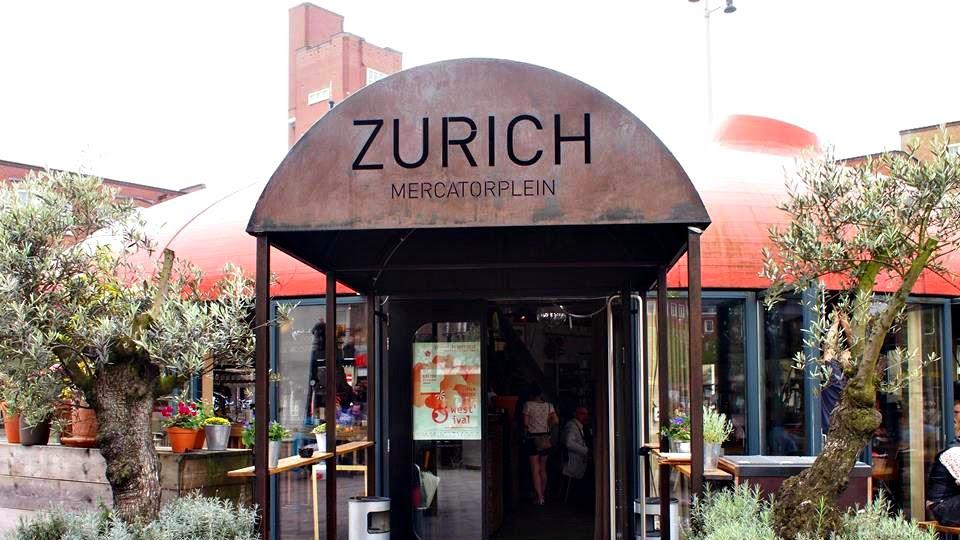 Hotspot Amsterdam West Mercatorplein Zurich