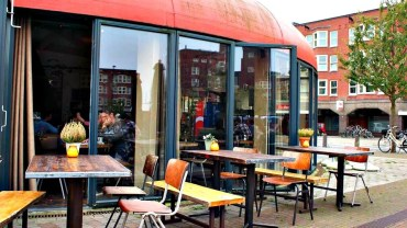 Hotspot Terras Amsterdam West Mercatorplein Zurich