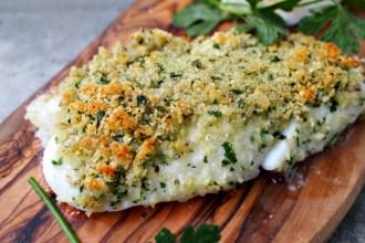 Vis met knapperig korstje