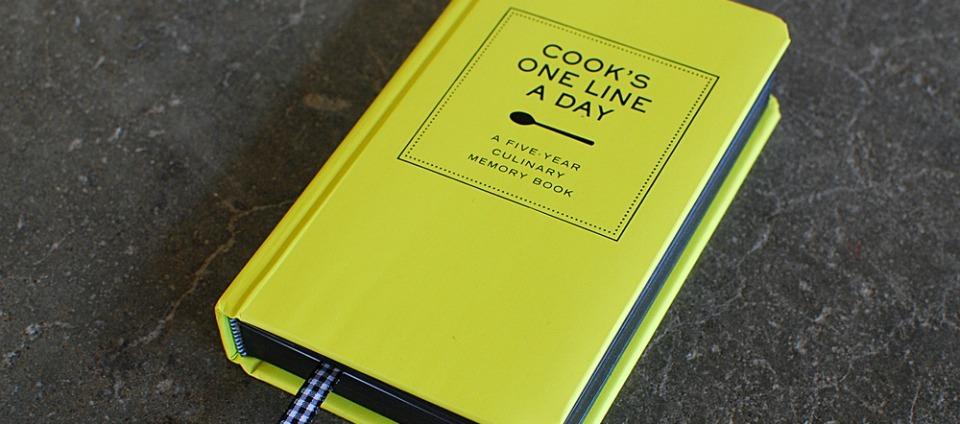 cadeau tip foodie kookdagboek