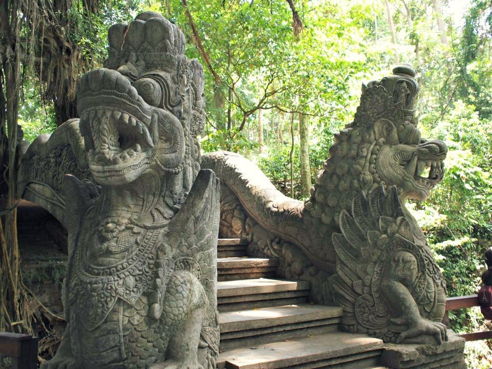 monkey forrest bali ubud Reisverslag Bali