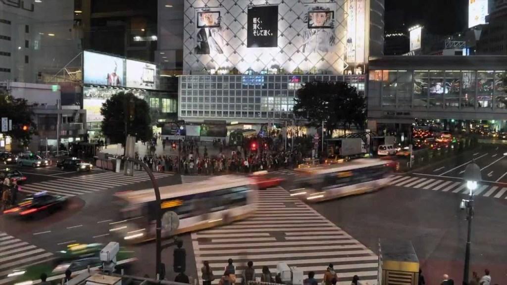 Tokio: Shibuya Crossing