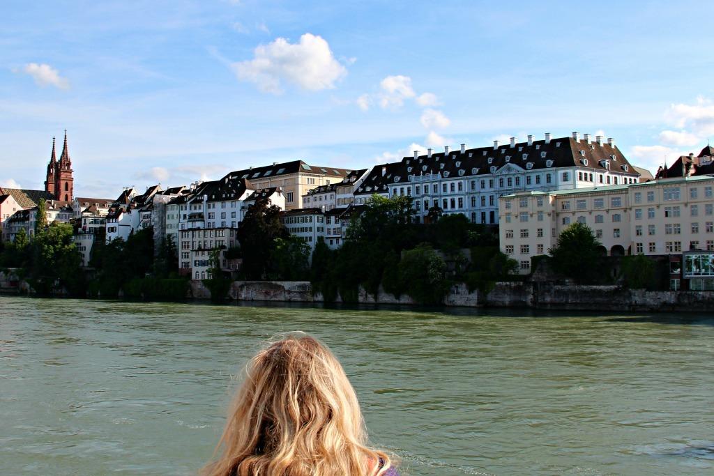 Basel reisverslag relaxen aan de Rijn
