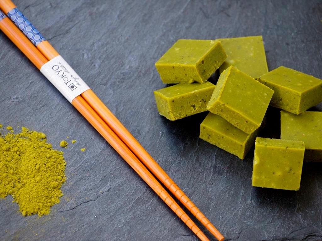 Recept Romige groene thee bonbons