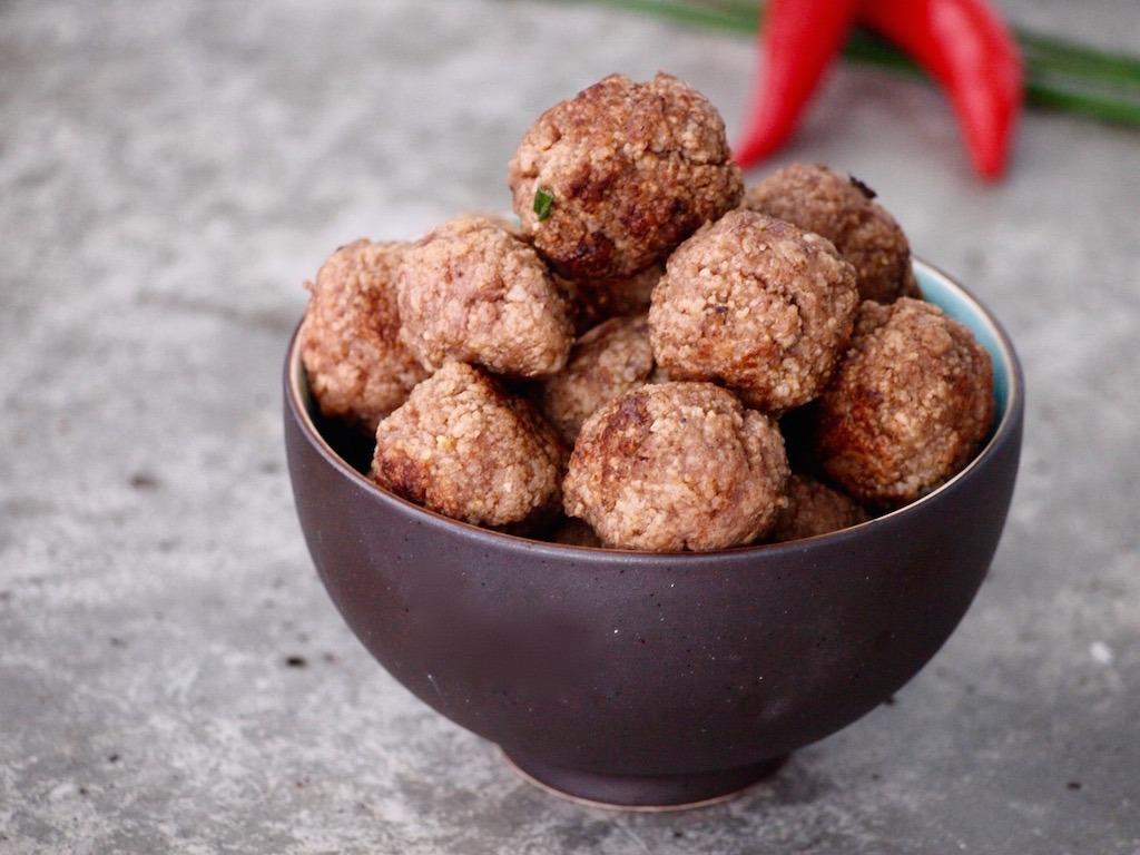 Aziatische gehaktballen met 5 spice
