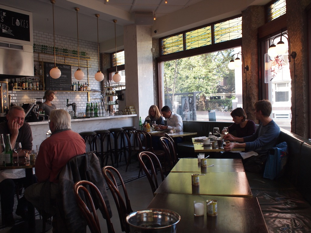 George bisto Amsterdam Zuid brunchen lunchen en hamburgersa