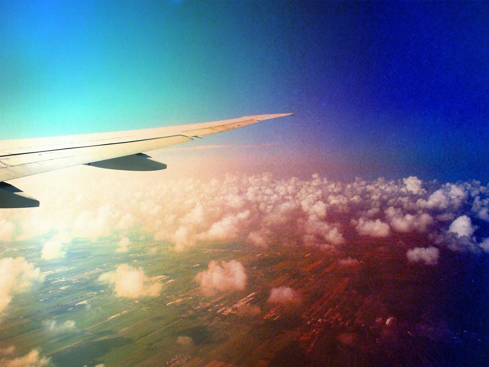 Irritaties tijdens het vliegen