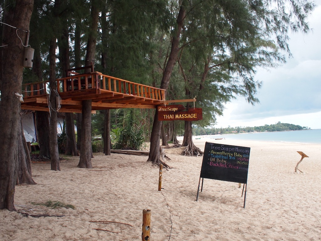 Long Beach Ko Lanta tree massage