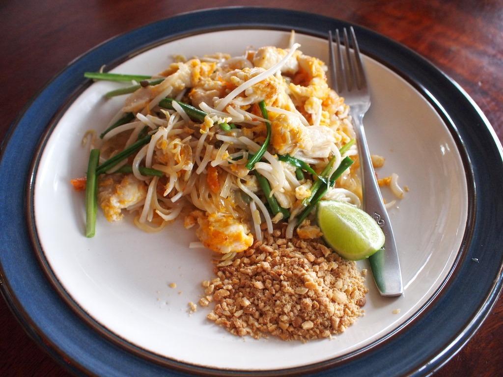 Favoriete thaise gerechten Pad Thai