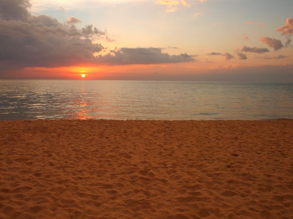 Klong Nin Beach Ko Lanta Thailand Sunset